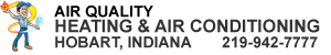 Air conditioning and heating services in Hobart, Indiana